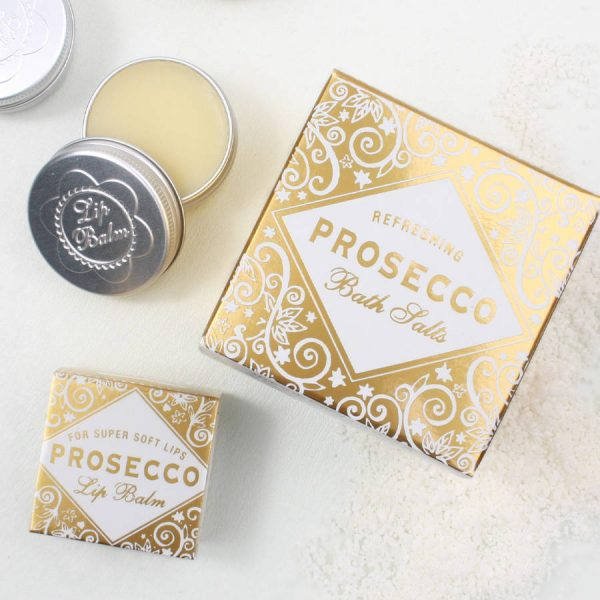 You won't regret this kind of care. Lip balm of Prosecco taste