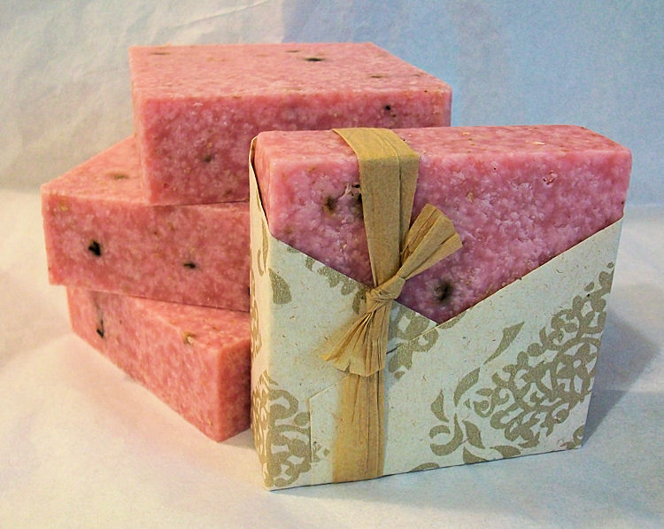 Salt Soap. My must-have for skin with imperfections!