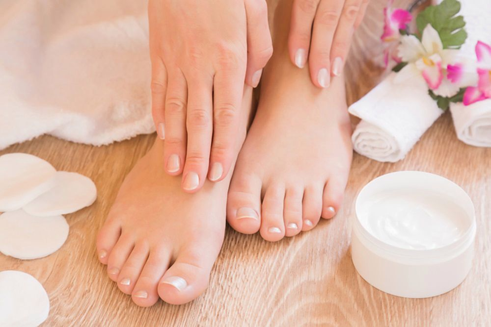 Homemade foot products. Learn my ways to get smooth feet